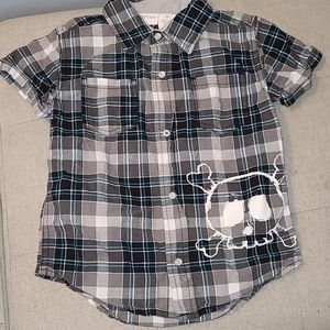 Amy Coe Snap Button Down -3T